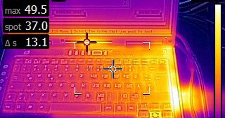 Thermografiemessung