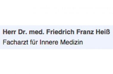 Dr. med. Friedrich Franz Heiß