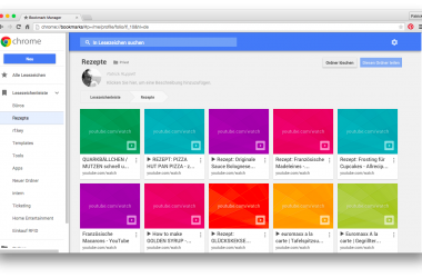 Den alten Bookmarks-Manager in Googles Chrome verwenden