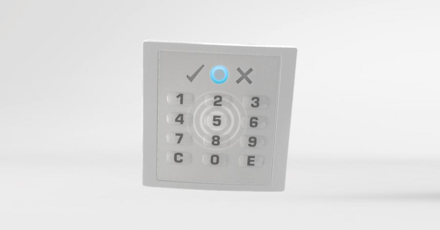 rf:key Voxio Flex Leser mit PIN Tastatur