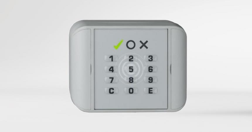 rf:key Voxio IP65 Leser mit PIN Tastatur