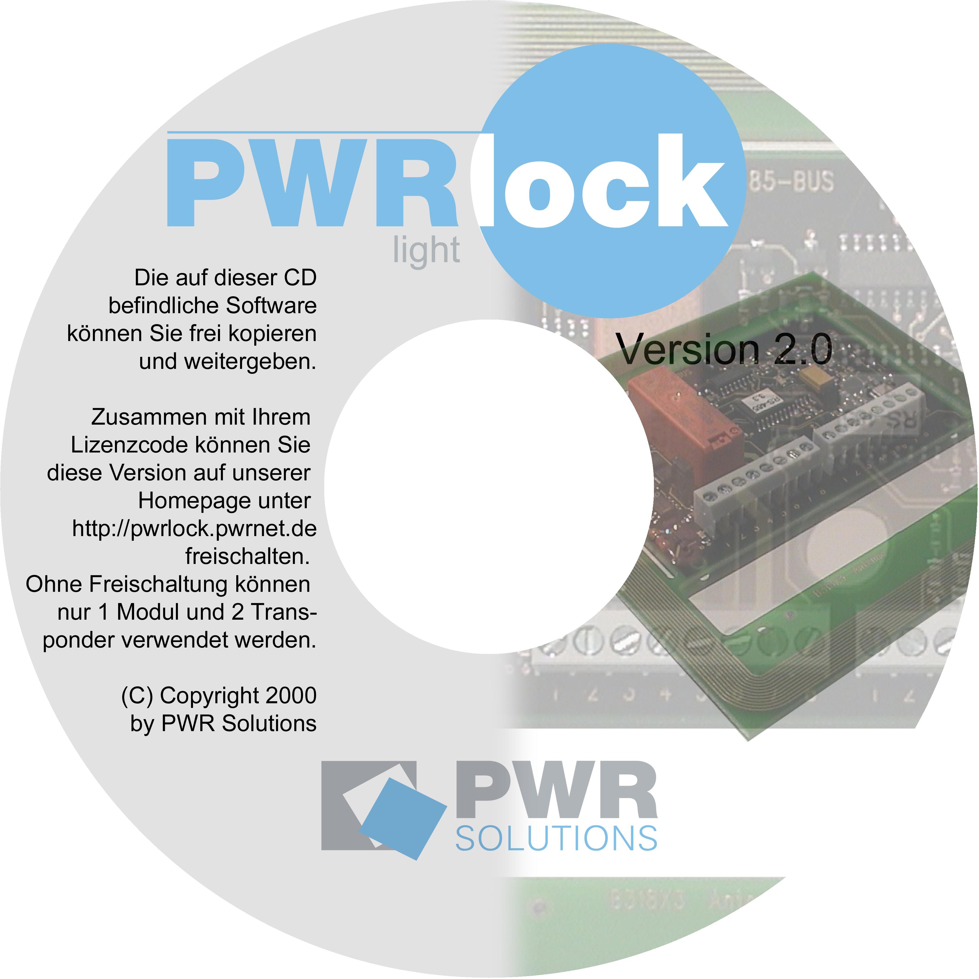pwrlock light cd transponder karten isocard tag schlüssel 125khz