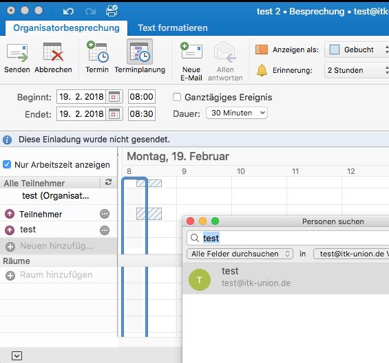 Outlook Gruppenkalender Einladung Organisator Termin verschwindet bei akzeptiertem Termin aus Kalender